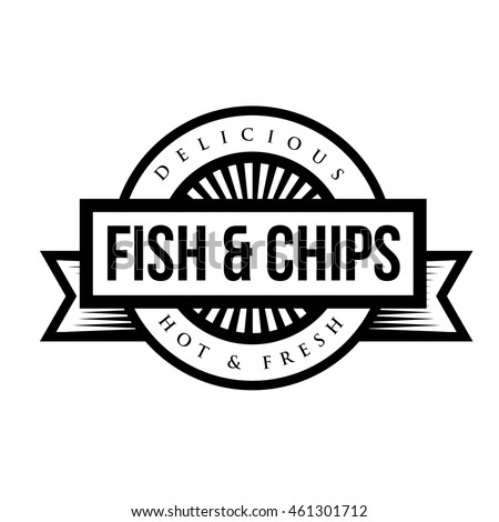 Vintage fish stock images royalty free images vectors for Fish and chip shop menu template