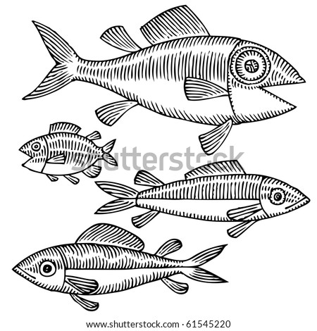 fish drawing variant