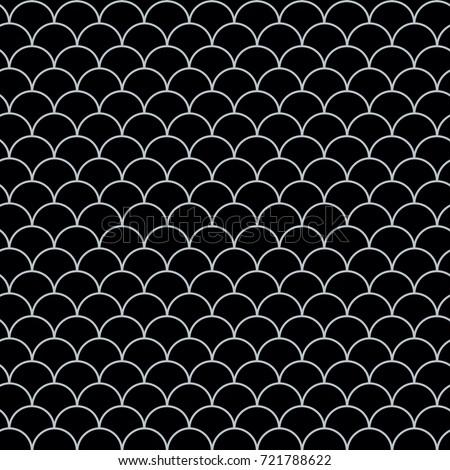 Fish scale seamless pattern reptile dragon stock vector for Fish scale wallpaper