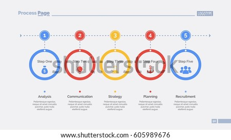 Process Chart Template Stock Vector 404381089 - Shutterstock