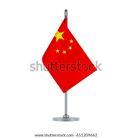 flag design chinese flag set isolated stock vector 664330279, Powerpoint templates