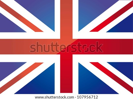 flag london background. vector illustration - stock vector