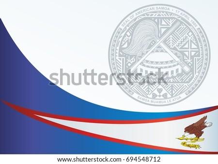Template Award Official Document Flag Symbol Stock Vector ...
