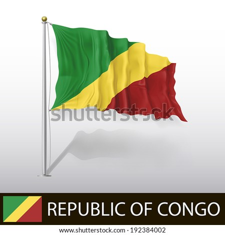 Flag of Republic of Congo