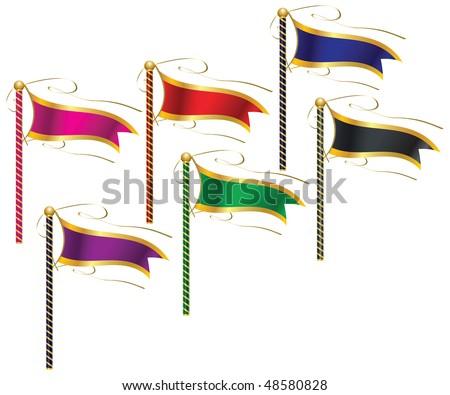 Flag Theme - stock vector