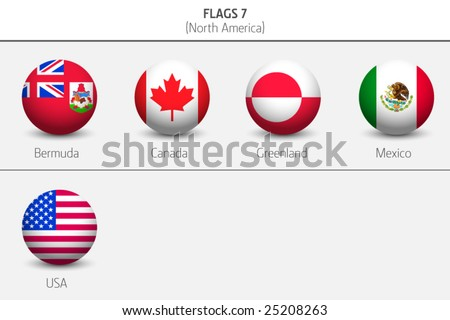 Flags of Northern America Countries 8