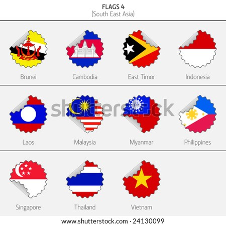 Flags of Southeastern Asia 4