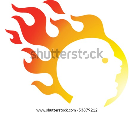 Flaming Head
