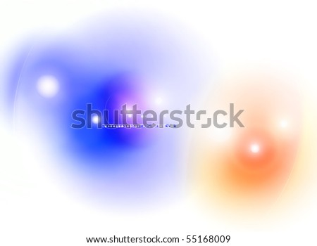 Flare background, vector - stock vector