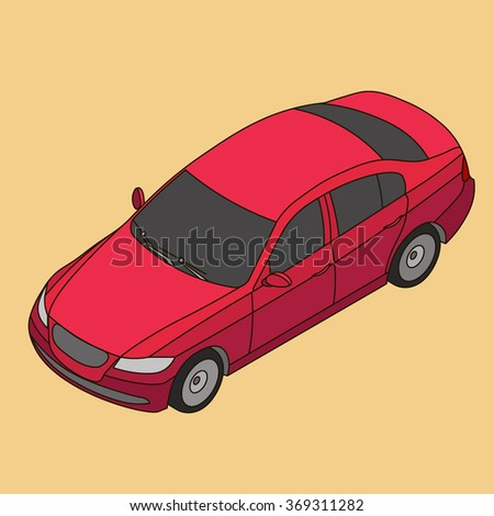 3d Car Icon Stock Photos, Royalty-Free Images & Vectors - Shutterstock