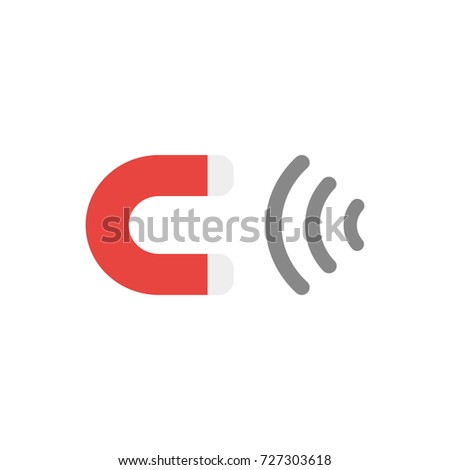 Flat Design Vector Illustration Red Grey Stock Vector 727303618 ...