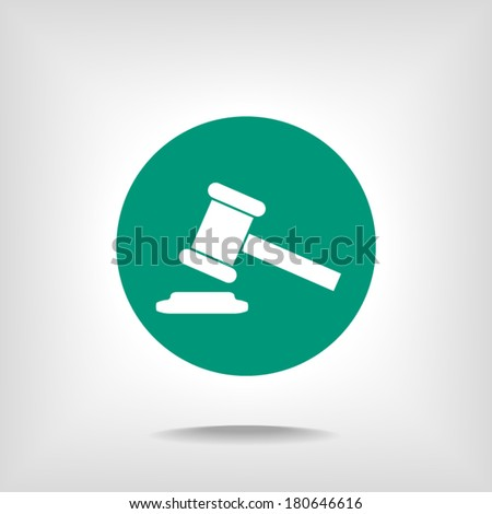 flat icon, vector illustration - stock vector