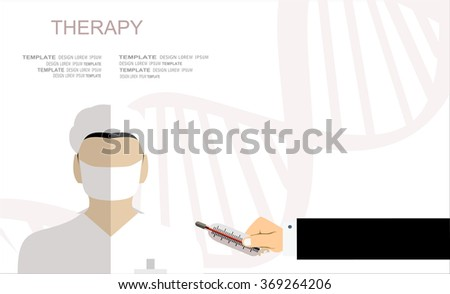 Flat medical background. First aid and diagnostic. Medical research and therapy.