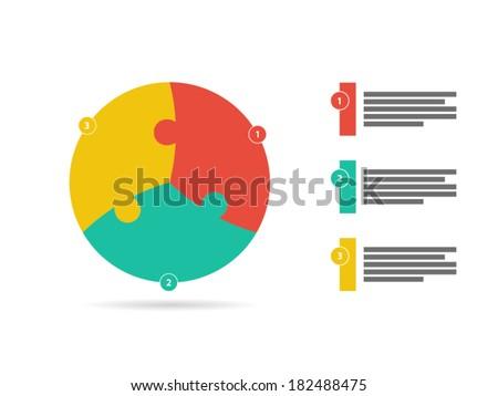 flat rainbow spectrum colored three sided stock vector 182488475