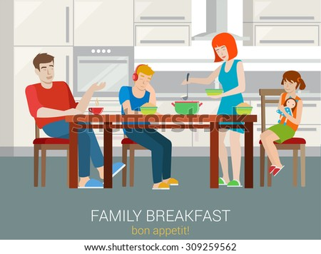 Kitchen Table Clipart