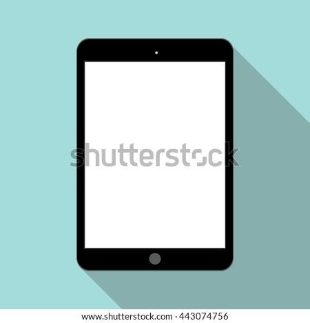 Flat Tablet vector icon, Tablet icon, Tablet icon, Tablet icon, Tablet icon, Tablet icon, Tablet icon, Tablet icon, Tablet icon, Tablet icon, Tablet icon, Tablet icon, Tablet icon, Tablet Tablet  - stock vector