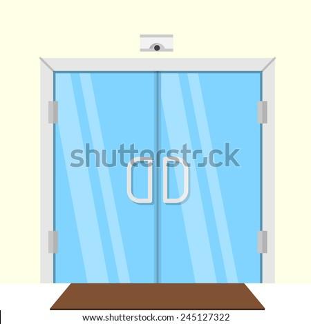 Double Door Stock Photos Images Amp Pictures Shutterstock