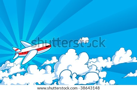 Flight - stock vector