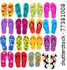 flip flops - stock