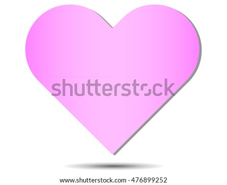 Floating Pink Heart