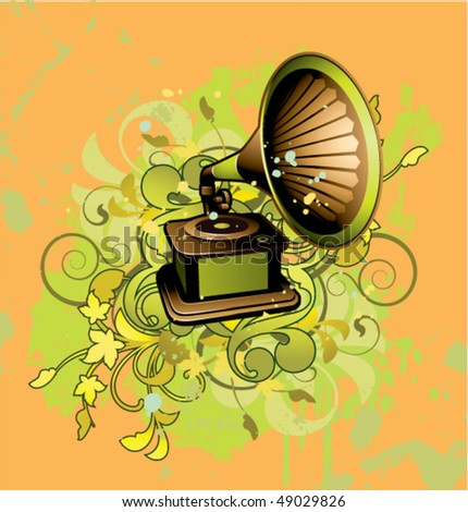 Victrola Gramophone Stock Photos, Royalty-Free Images & Vectors ...