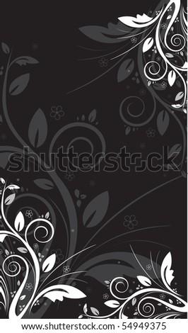Floral backgound - stock vector