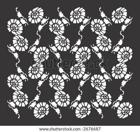 floral background pattern