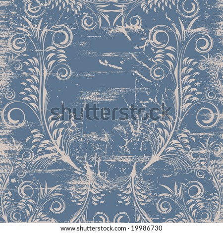 Floral background. Vector. - stock vector
