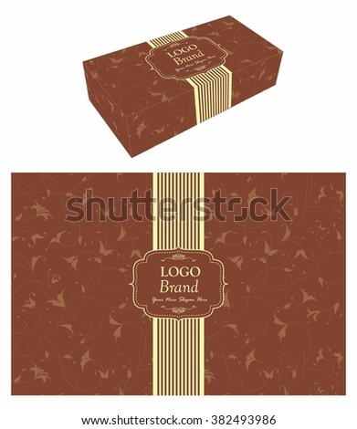 Cake Box Design Vector : Cake Box Stock Images, Royalty-Free Images & Vectors ...
