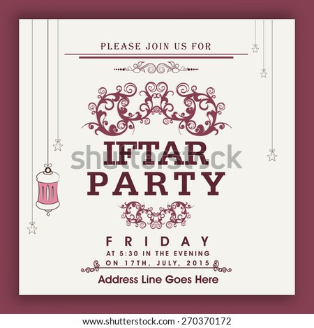 Lantern Party Invitation Images RoyaltyFree Images – Party Invitation Card Design