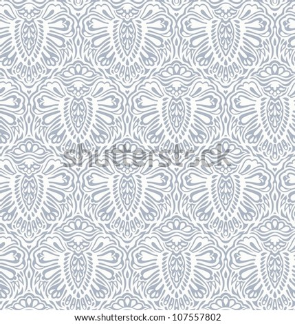 Floral design element renaissance style, model for design of gift packs, patterns fabric, wallpaper, web sites, etc. - stock vector