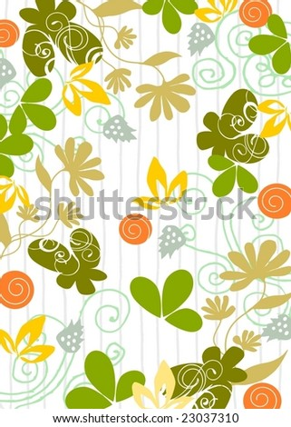 Floral fresh background 5
