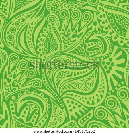 Floral nature seamless pattern background vector illustration