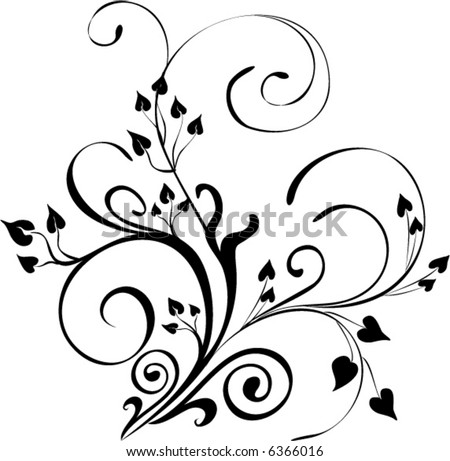 floral ornament vector stock vector hd royalty free 6366016 rh shutterstock com free ornament vector pack free ornament vector download