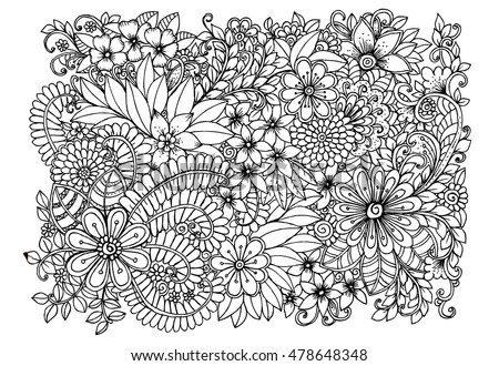 Page For Adult Coloring Book