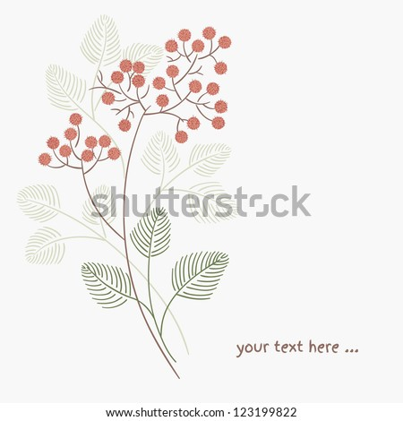 Floral pattern in vector. Web page background. - stock vector