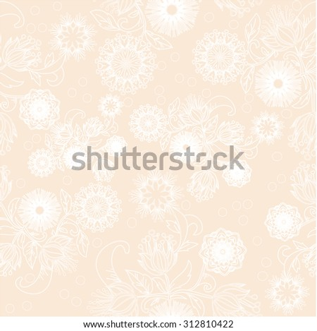 Floral pattern with flowers. Texture with flowers. Endless floral pattern. Grunge floral ornament. Leaf. Ornament. Backdrop.on a white background, color, pattern, prints, patterns, design, style  - stock vector