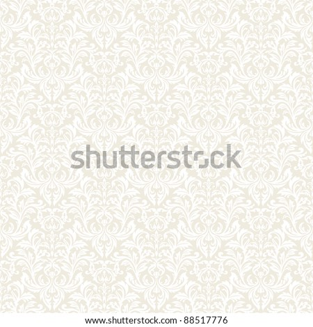 Floral seamless pattern for continuous replicate. See more seamless backgrounds in my portfolio. - stock vector