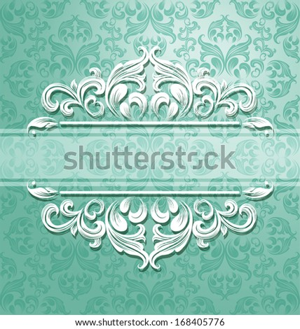 floral seamless pattern for design. Vector Illustration - stock vector