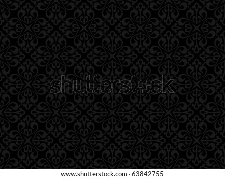 Floral seamless pattern - vector background for continuous replicate. - stock vector