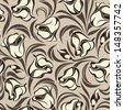 Floral seamless pattern. Vector illustration. - stock vector