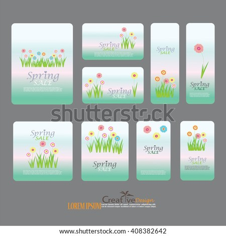 Set easter gift tags labels cute stock vector 579933451 shutterstock for romantic and easter design announcements greeting cards posters negle Images
