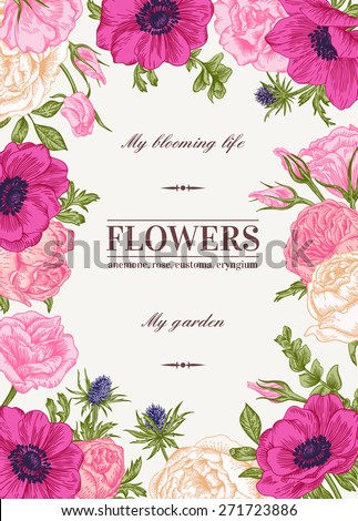 Flower Border Stock Images Royalty Free Images Vectors