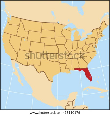 Florida Locate Map