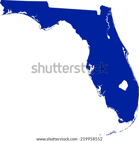 Florida Map Stock Images Royalty Free Images Amp Vectors