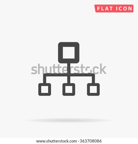 Flow chart Icon Vector. Flow chart Icon JPEG. Flow chart Icon Picture. Flow chart Icon Image. Flow chart Icon Art. Flow chart Icon JPG. Flow chart Icon EPS. Flow chart Icon AI. Flow chart Icon Drawing - stock vector