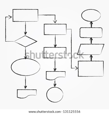 flowchart stock images  royalty