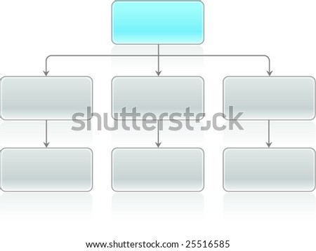 Flowchart Vector - stock vector