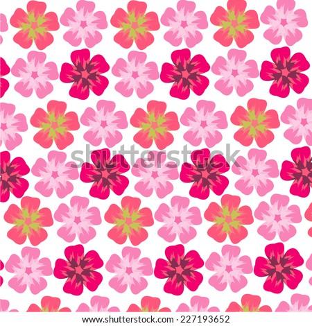 Flower pattern - stock vector