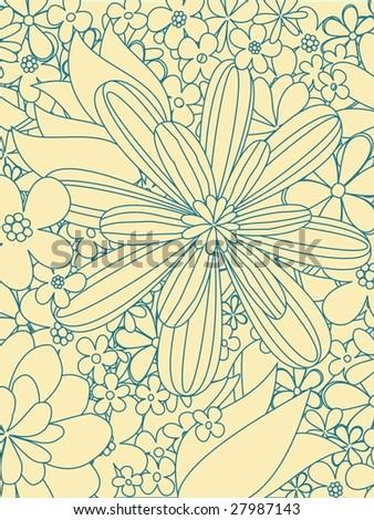 flower power 1 - stock vector